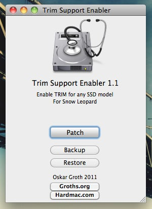 TRIM Enabler Increases Solid State Drive Performance in OS X