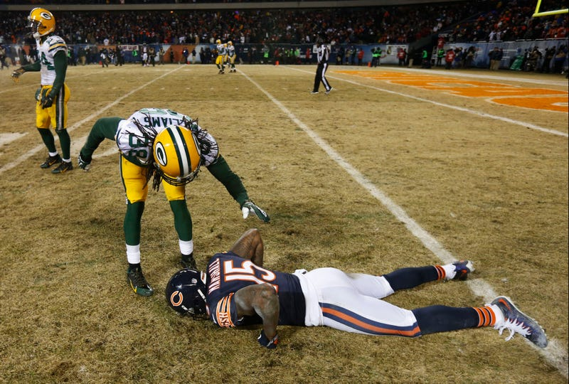 Defeated Brandon Marshall Is Defeated