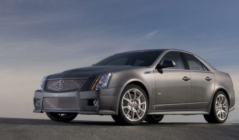 Elvis Presley Would Drive A Cadillac CTS-V