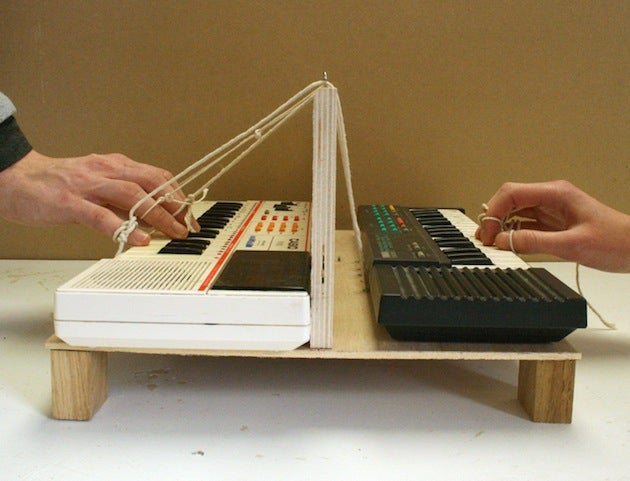 These Strange Experimental Instruments Are Played With a Partner