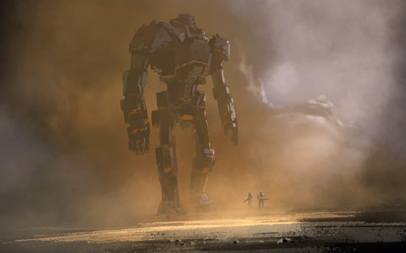 Tonight's Helping of Giant Robots and Exploding Spaceships