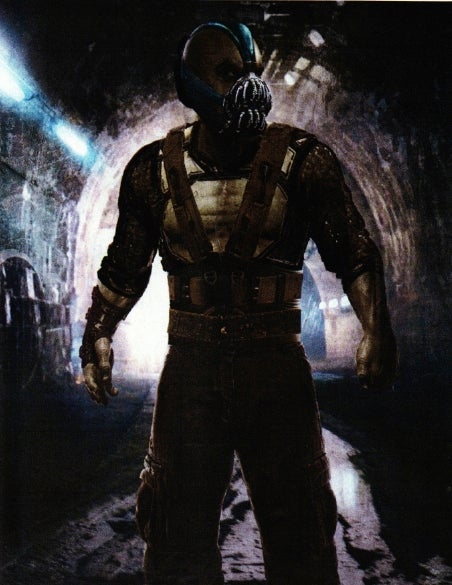 Revealed: Bane Sketches and A Deleted Scene Script Page from Dark Knight Rises