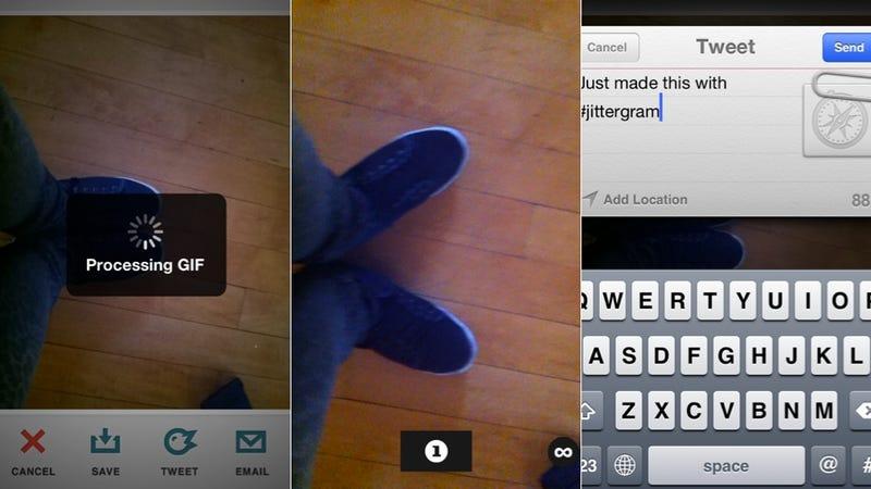 Jittergram, 1-Bit Camera, Wavii, and More