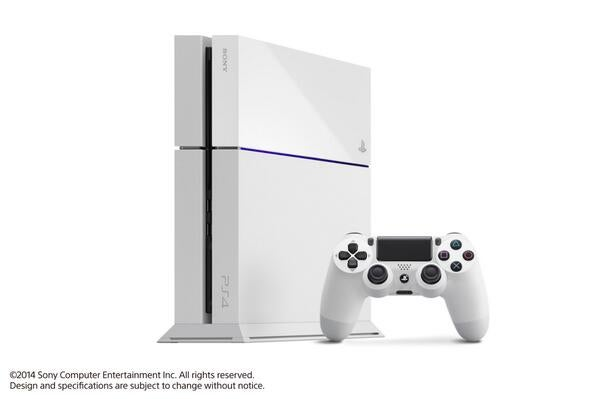 A White Version of the PS4 Drops On September 9th