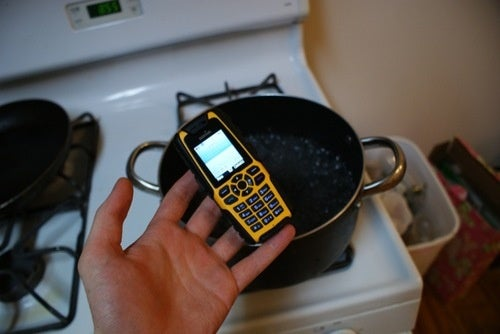 Cooking with the Sonim XP3