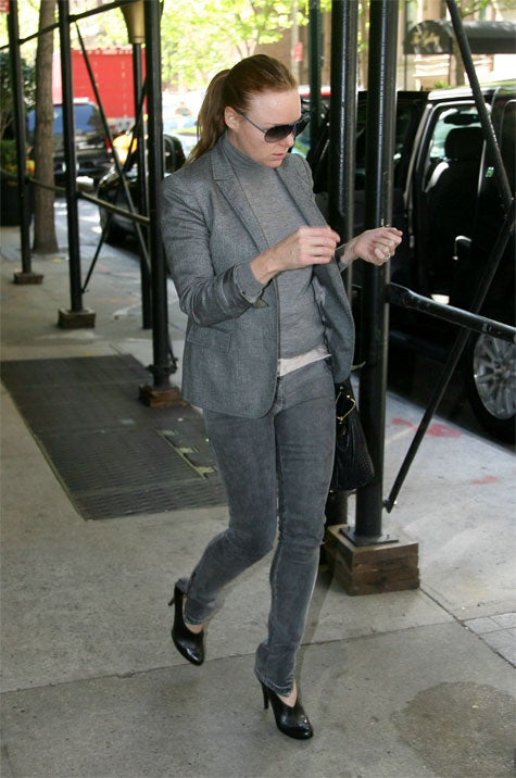 Stella McCartney Declares Monochromatic Style Big For Spring