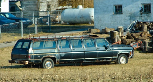"Ten ""You Might Be A Redneck"" Limos"