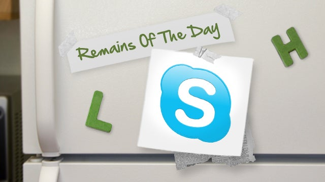 Remains of the Day: Skype Bug Sends IMs and Chats to Random Contacts