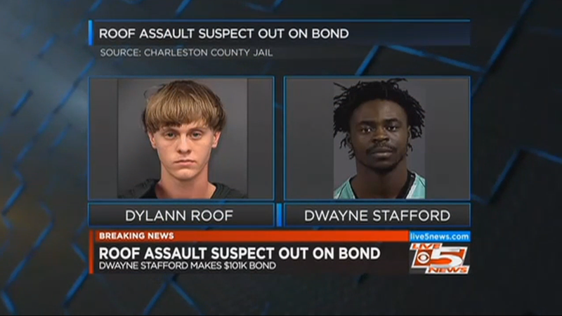 Man Is Released From Jail Hours After Allegedly Punching Dylann Roof in the Face