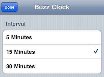 Buzz Clock Silently Tells You What Time It Is Through Scheduled Vibrations