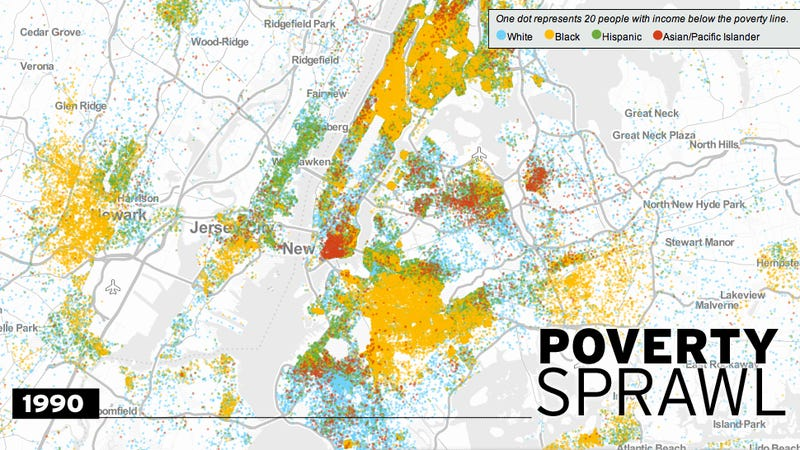 Watch Poverty Spread to the Suburbs