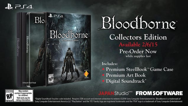 Bloodborne Gets TGS Trailer, American Release Date