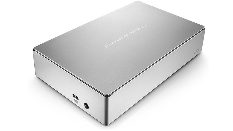 Porsche Design's New Desktop Drive Shares Power With Your 12-inch MacBook
