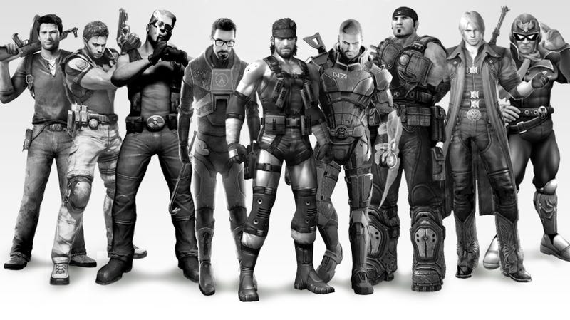 Every Game Has a Hero. Video Games' Expendables Has Them All.