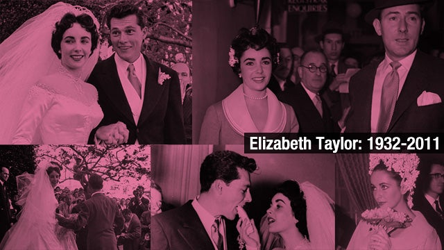 The Many Weddings of Elizabeth Taylor