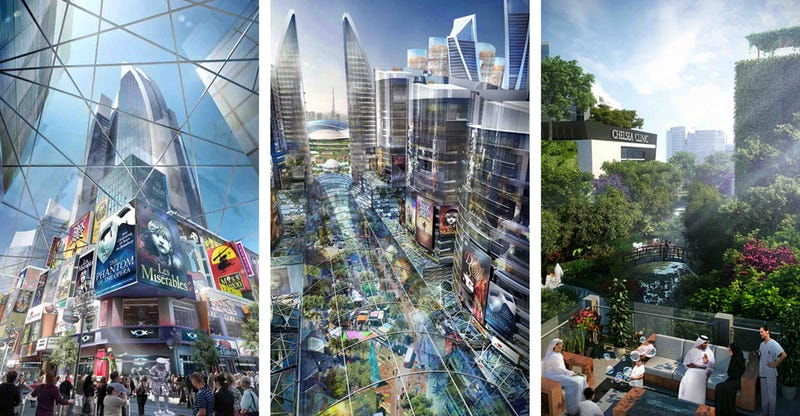 World's first climate-controlled neighborhood to be built in Dubai