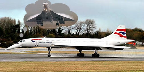 British Airways' Last Concorde May Become Dubai Novelty