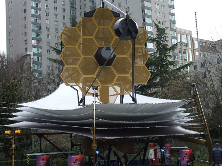 James Webb Space Telescope: Boldly Peeking Where No Man Has Peeked Before