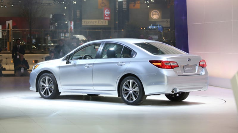 The 2015 Subaru Legacy Gets 36 MPG Highway