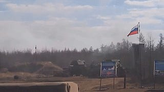 Russian Troops Have Close Call With Missile, Giggles & Cheers Ensue