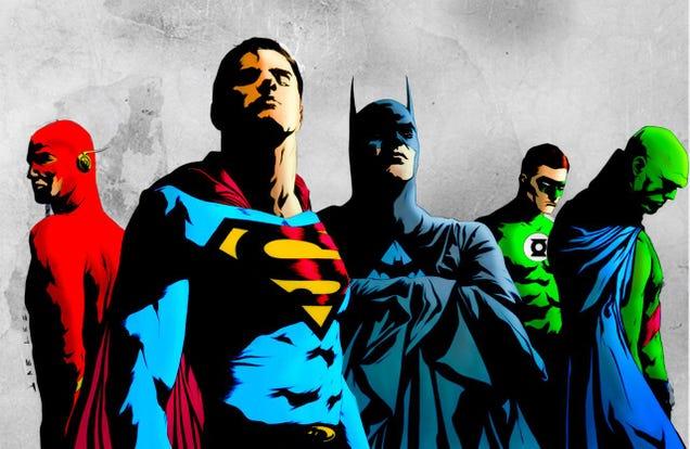 mad justice league men - photo #15
