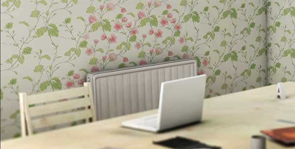 Heat-Sensitive Wallpaper Changes Patterns When You Crank the Thermostat
