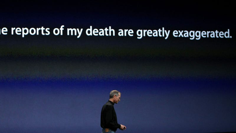 Apple Is Insulted You Think Steve Jobs Could Ever Die