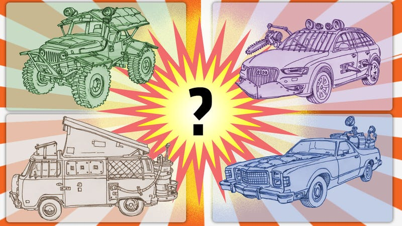 Use This Infographic To Pick Your Ideal Movie Disaster Car
