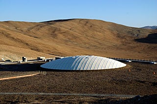 Meet the telescope behind the Pac-Man photos
