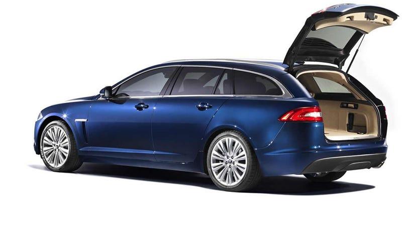 Jaguar XF Sportbrake Gallery
