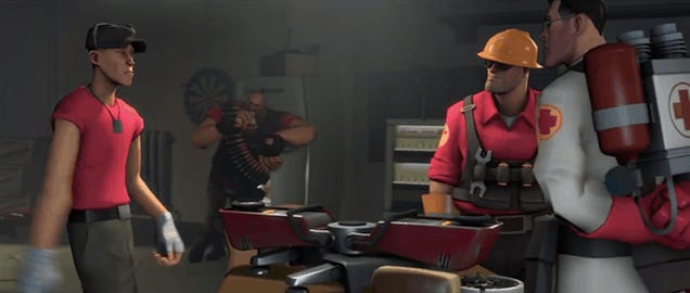 Watch The Newest Team Fortress 2 Short