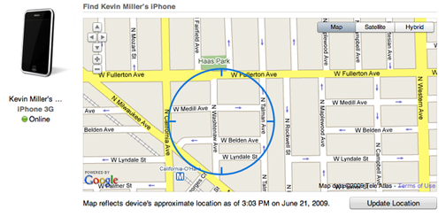 Find My iPhone Saved My Phone From a Thief