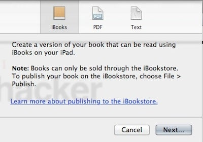 iBooks Author Gives You the Power to Design Your Own Book, Here's What You Should Know