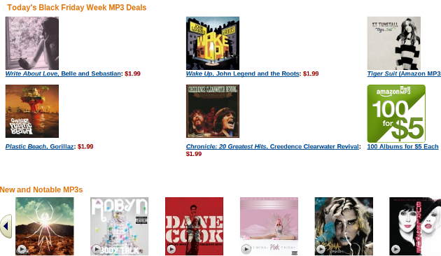 Get $3 in Free MP3 Credit at Amazon