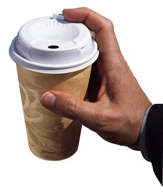 Why One Kind of Disposable Coffee Cup Lid Dominates All The Rest