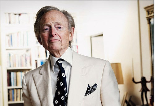 Tom Wolfe Attacks Dead Man to Boost Self Esteem