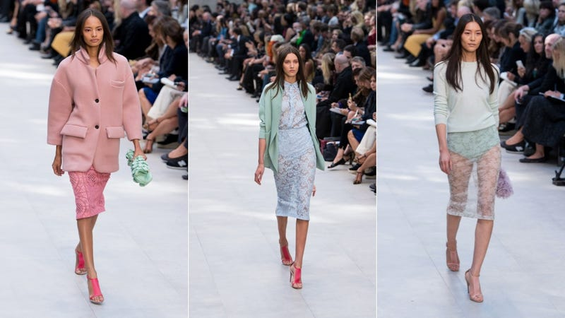 Burberry Prorsum: For the Ethereal, Perpetually Naked Executive in You
