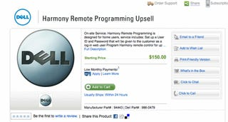 Dell Gets Honest with its $150 Harmony Remote Programming Service