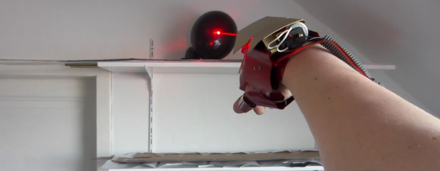 This Iron Man Glove Shoots Lasers and Metal Bolts