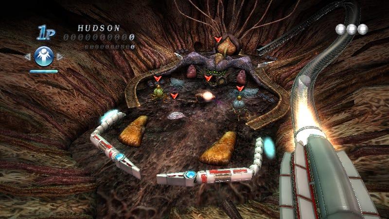 Alien Crush Returns – Space Venereal Disease Strikes WiiWare