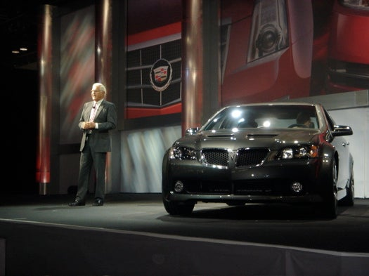 Pontiac Builds And Reveals G8 For 2008, We Build Excitement By Bringing You Live Pictures First