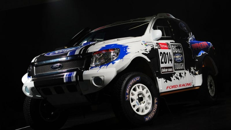 Ford Enters 2014 Dakar Rally With Wonderful Mustang-Powered Rangers