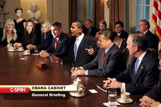 The Obama Celebrity Cabinet