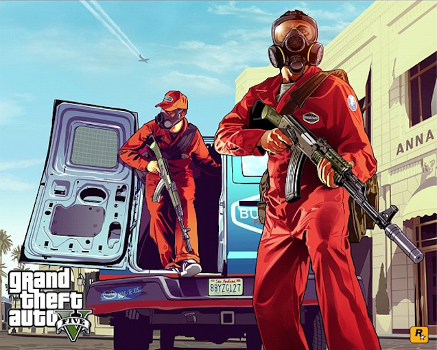 "This Grand Theft Auto V Artwork Promises ""Pest Control"" in the San Andreas Sunshine"