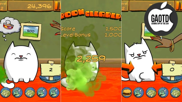 The Fart Comes on Little Cat Feet in Fart Cat!