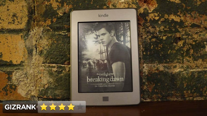 Kindle Touch Lightning Review: The Only Book Gadget You Need