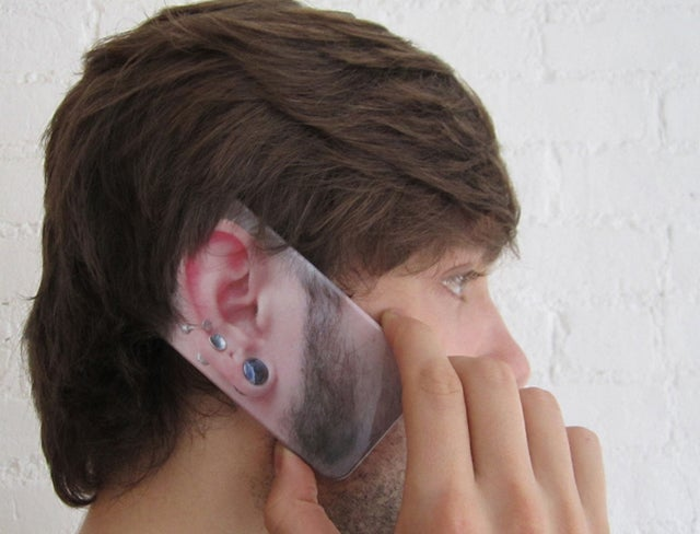 EARonic iPhone Cases Replace Your Ear While You Take a Call
