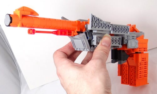 The NES Zapper Becomes a Transformer. A Bright, Orange Megatron.