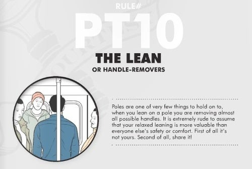 Subway Etiquette, Part II: Illustrated Guide and Vigilante Warriors