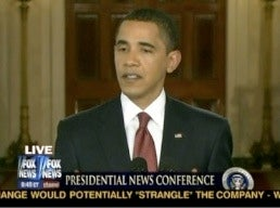Obama: Try Not To Pee Your Pants, America
